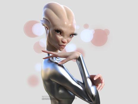 Alien 3D